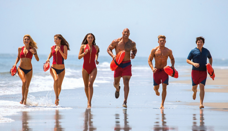 Baywatch-Team