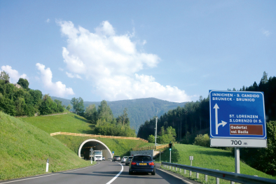 Gadertal Tunnel