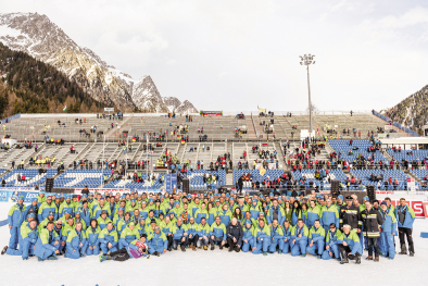 Biathlon-WM Antholz