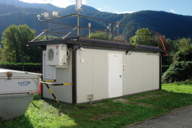 Luft­messstation Schrambach