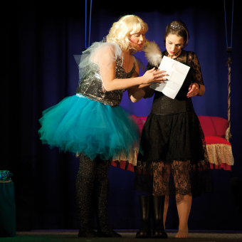 "Theater ""Die Prinzessin in der Krise"""