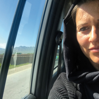 Sarah Hell in ­Afghanistan