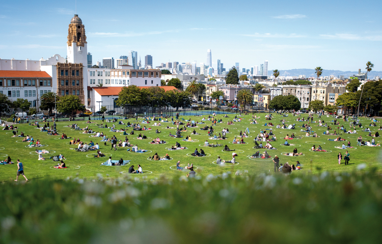 Dolores-Park in San Francisco